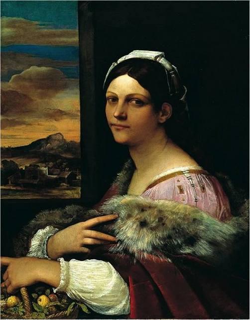 Себастьяно дель Пьомбо Доротея ок 1512