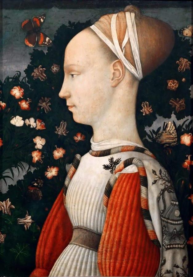 Пизанелло Портрет принцессы