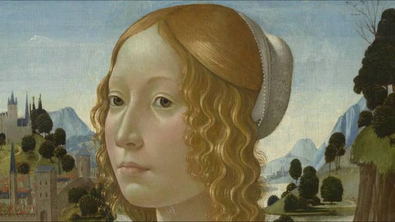 доменико гирландайо портрет мол женщины