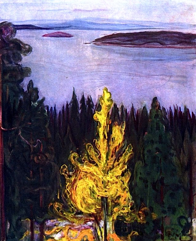 View from Nordstrand Edvard Munch - 1900