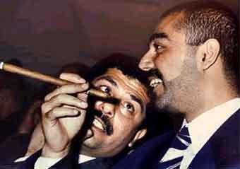 Сыновья Саддама Хусейна Удей и Кусей