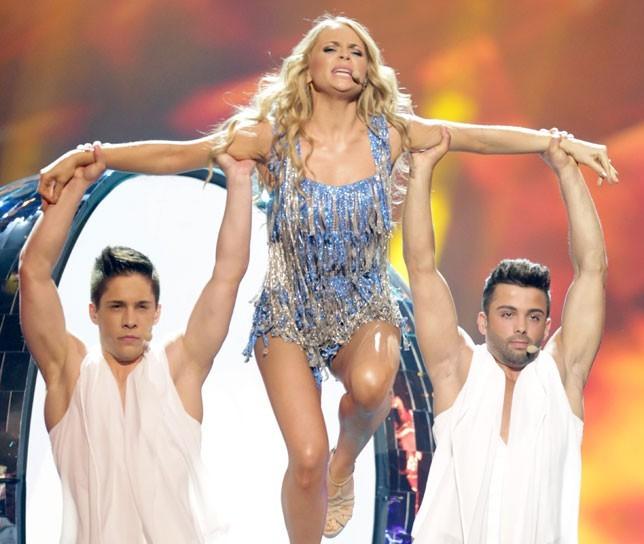Алёна Ланская на «Евровидении-2013»
