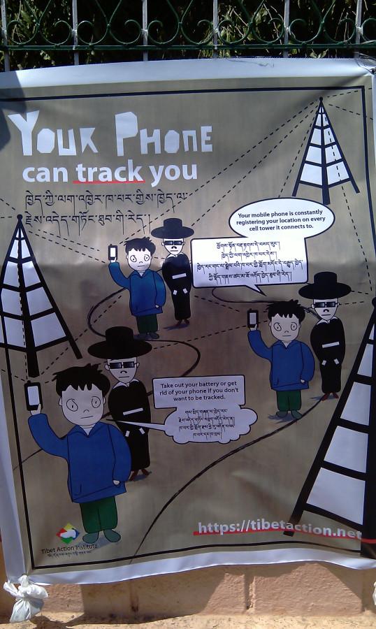 7. Предостерегающие плакаты в тибетской колонии  Bylekuppe, Karnataka