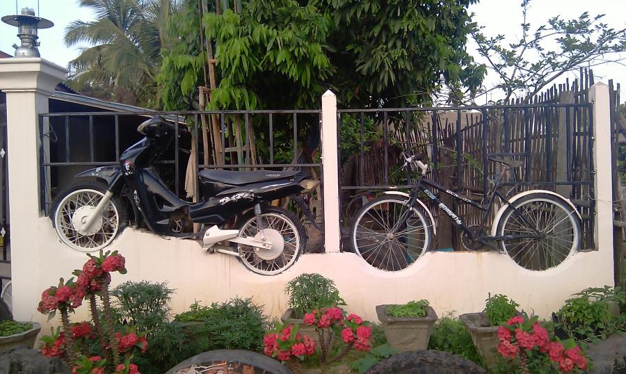 19 Заборчик в Лаосе
