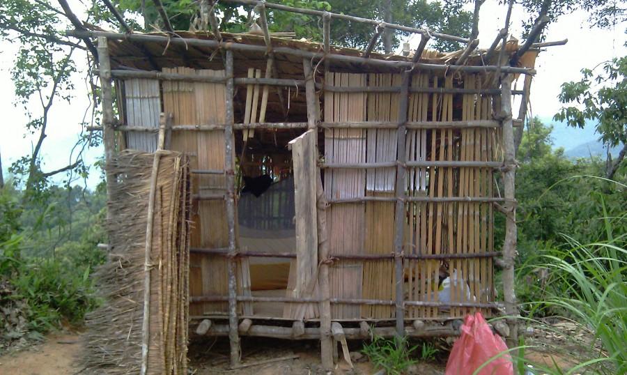 28 Мой новый домик в лаосских джунглях