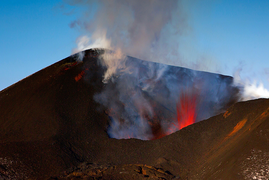 На каакой день сперма выходит из вулкана при извержении