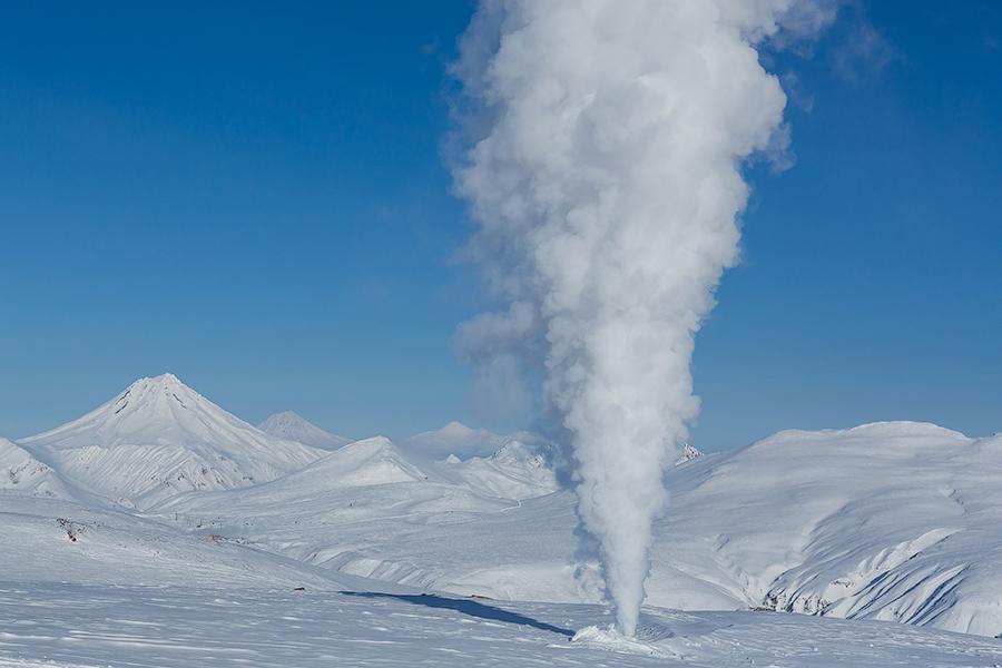 Зимние вулканы