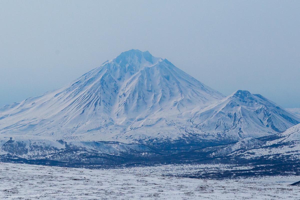 Вулканы камчатки зимой картинки