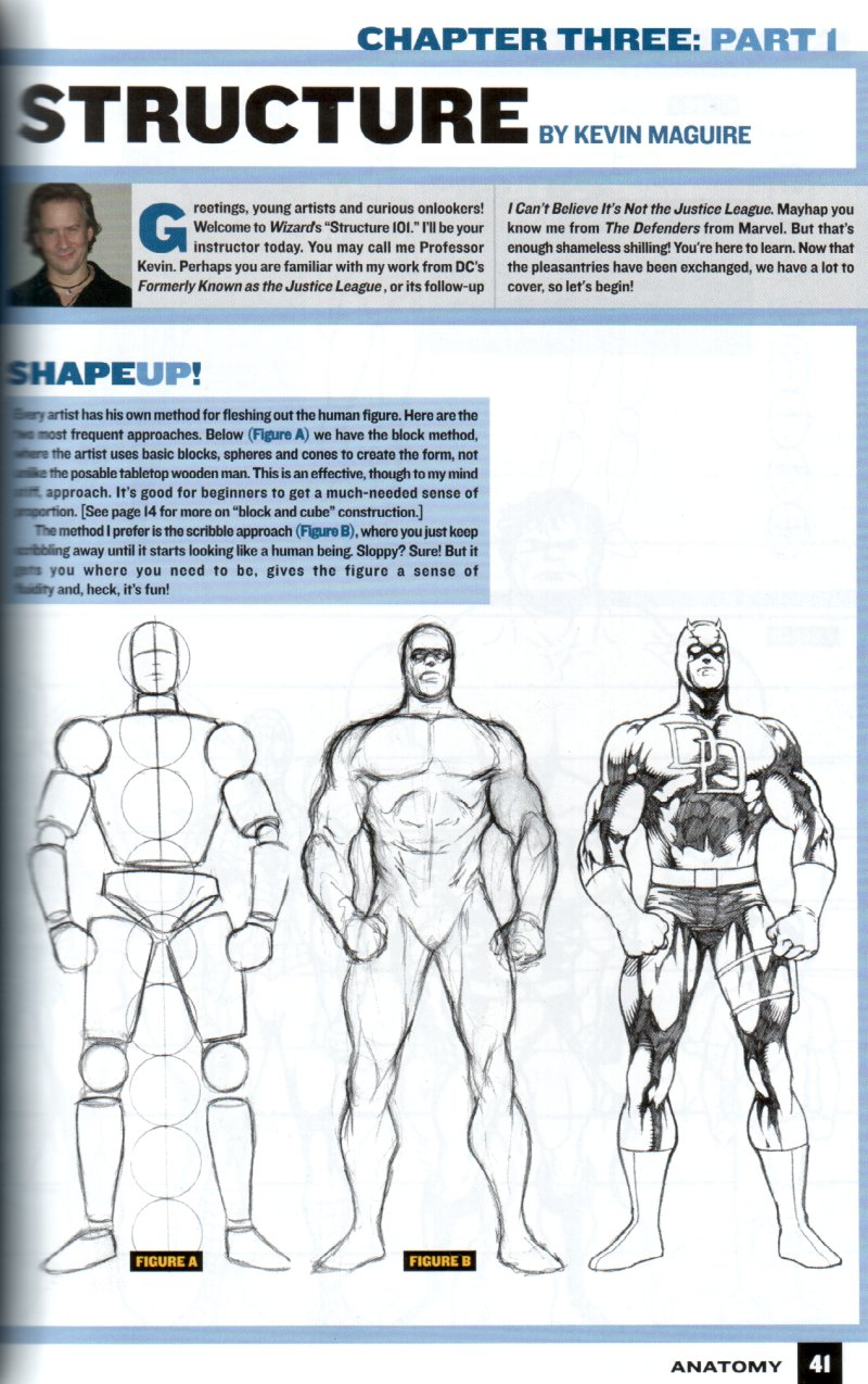 how to draw comic characters pdf