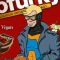 preview of Animal Man advertising Tofurky