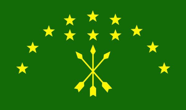 Черкесский флаг