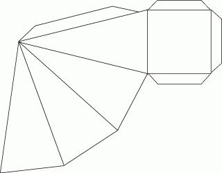 Xmas Box Pattern