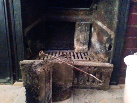 1930 39 S Cast Iron Fireplace Insert Do It Yourself