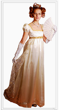 Фото платьев в стиле ампир 19 века