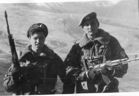 Мой боевой товарищ - Серега Бойцов (по ранению эвакуирован 9 января)