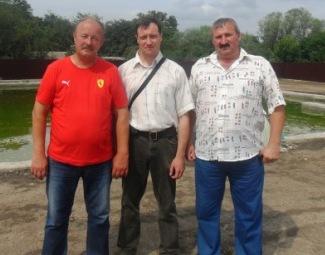 В 2012 году встретился с Александром Пегишевым и нашим боевым прапорщиком - Валерием Ивановичем Чекалиным.