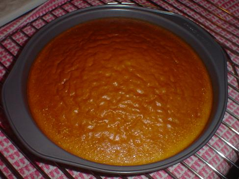 Such a humble little cake.
