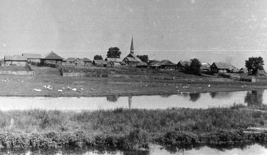 Родная и любимая деревня Кестым на севере Удмуртии
