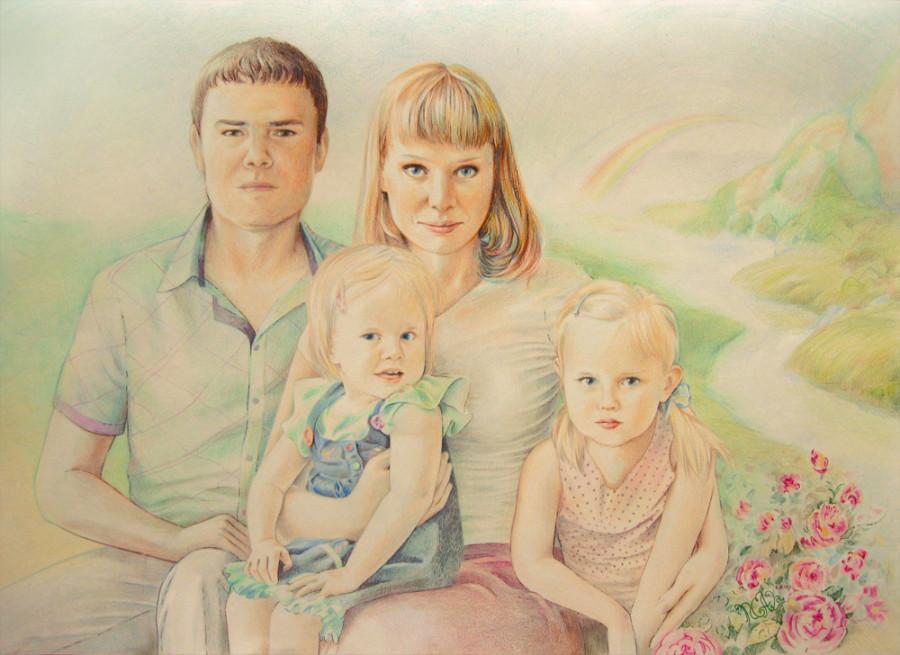 для присоединения семьи картинки нарисовать угадать