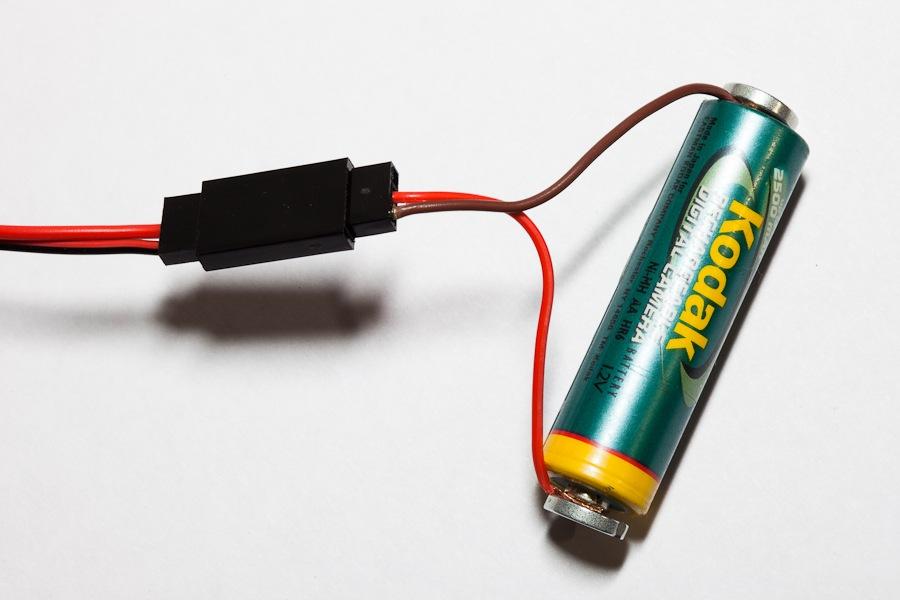 Зарядка одного аккумулятора