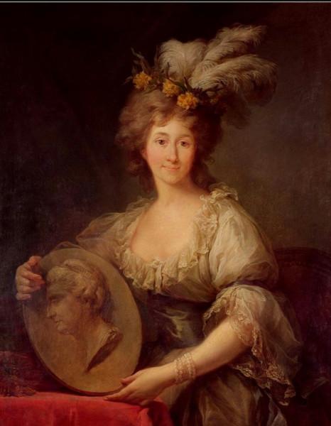 Izabela z Czartoryskich Lubomirska (1736-1816) Marcello Bacciarelli, 1757