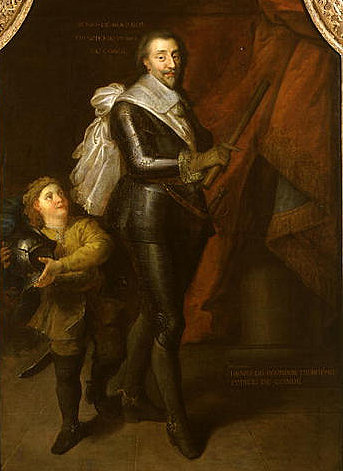 Анри II Бурбон отец Великого Конде