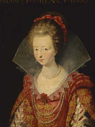 Шарлотта Маргарита де Монморанси, принцесса Конде мать Великого Конде