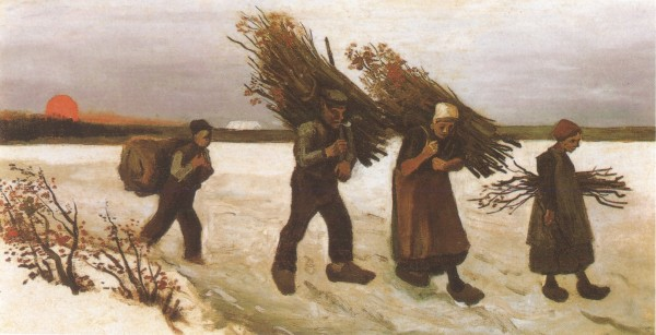 Loaders-of-firewood-in-the-snow,-Nuenen-1884