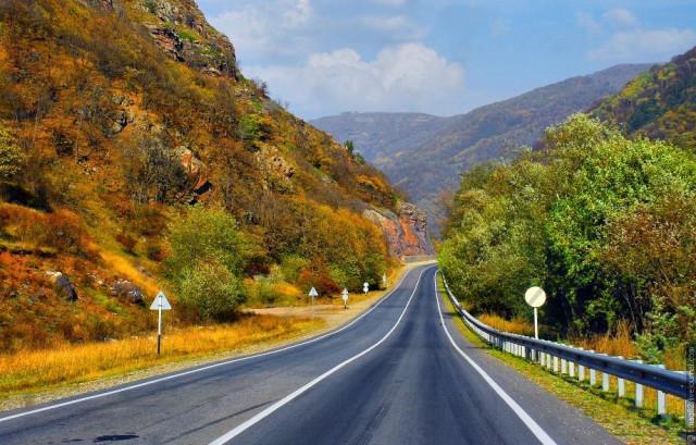 The main road through Siberia