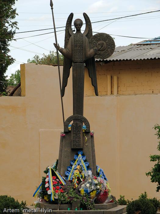 Памятник борцам за независимость, Черновцы