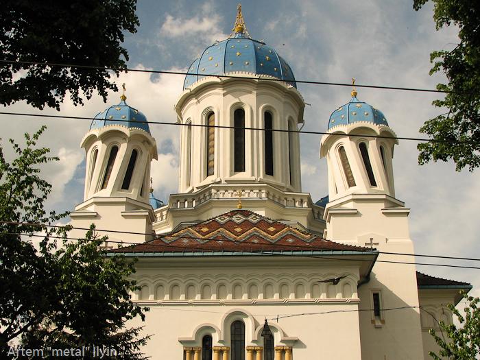 Пьяная церковь, Николаевский собор, Черновцы