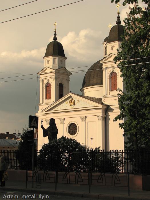 Цветущие каштаны, Черновцы