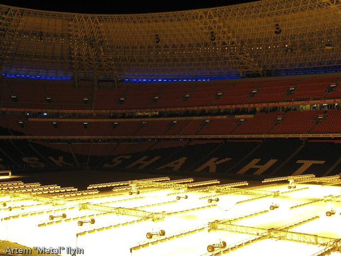 Фото: Донбасс арена. Трибуны / Donbass Arena