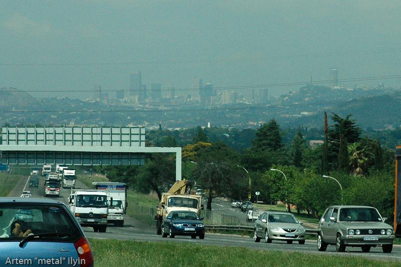 Небоскребы Йоханнесбурга, Южная Африка