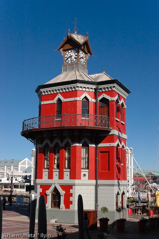 Часовая Башня на набережной в Кейптауне, Южная Африка