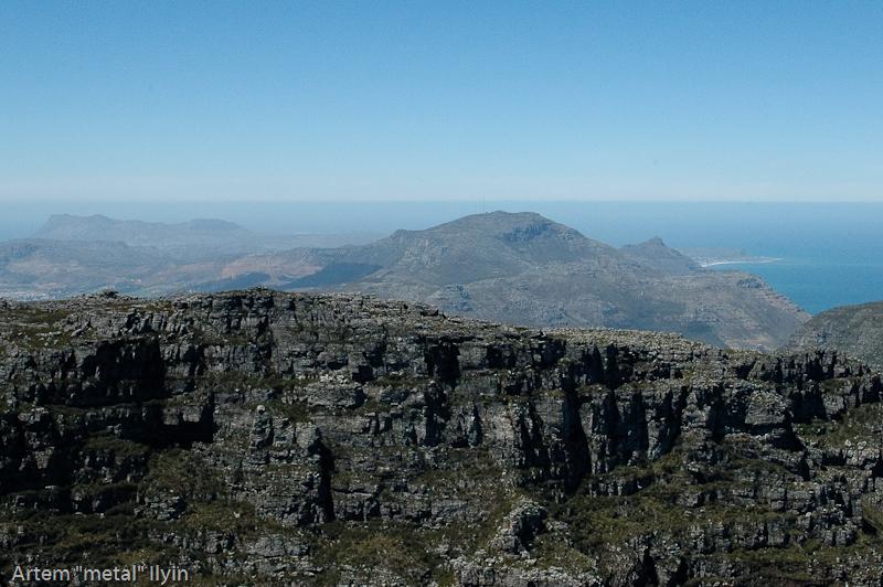 Вид на мыс Доброй Надежды со Столовой горы, Кейптаун, Южная Африка