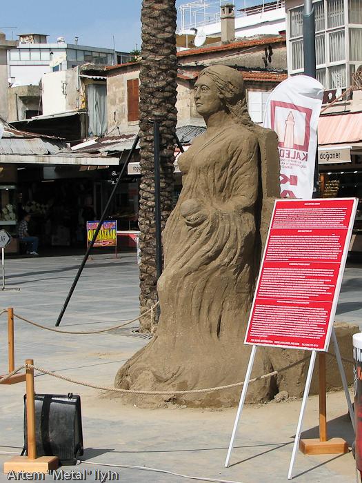 Фестиваль песчаных фигур, Анталия, Турция