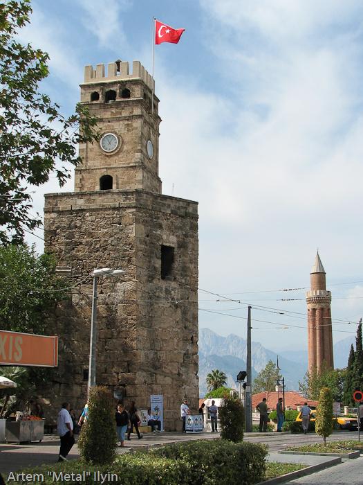 Самые известные башни Калеичи, Анталия, Турция