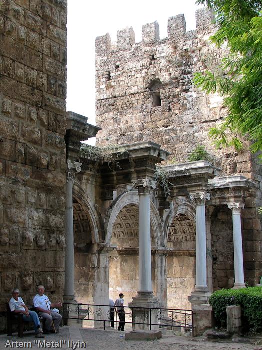 Ворота Адриана, Анталия, Турция