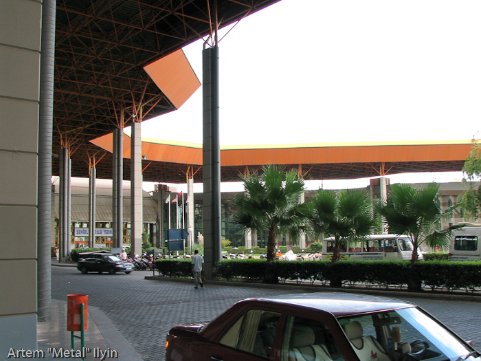 Центральный автобусный вокзал, Анталия, Турция