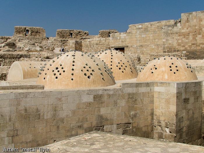 Хамам раскопан и восстановлен в цитадели Алеппо, Сирия