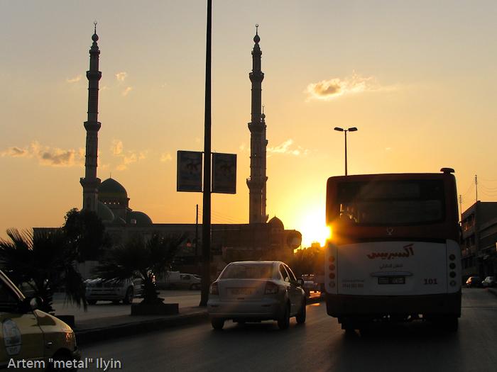 Мечеть, строящаяся в честь Президента Сирии Хафеза Асада, Алеппо, Сирия