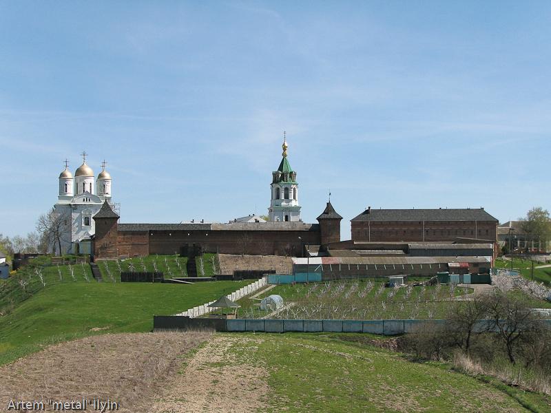 Панорама Зимненского монастыря, село Зимнее, Волынская область