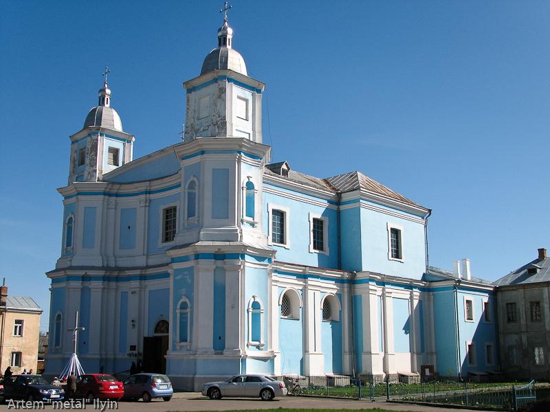 Собор Рождества, бывший иезуитский костел, Владимир-Волынский, Волынская область