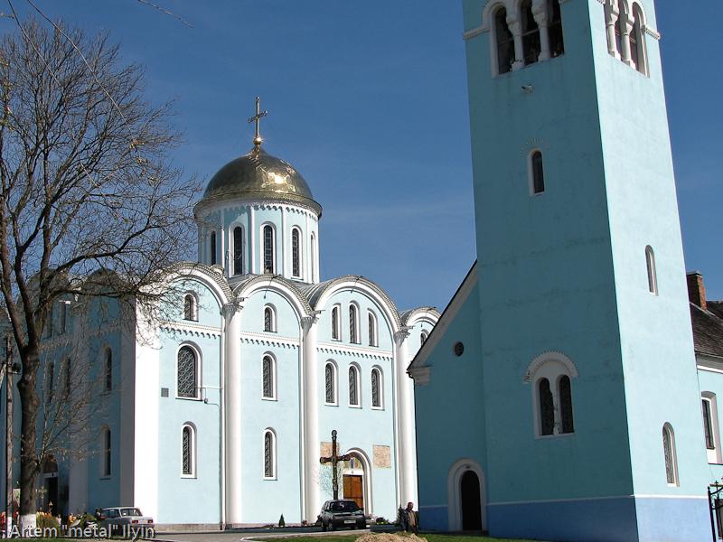 Колокольня Успенского собора (храм Мстислава), Владимир-Волынский, Волынская область