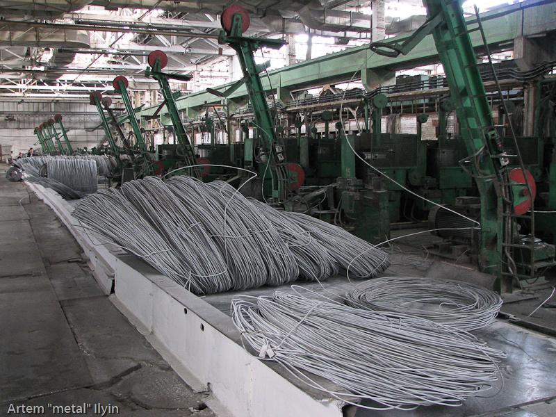 Старые советские проволочные станы завод Днепрометиз