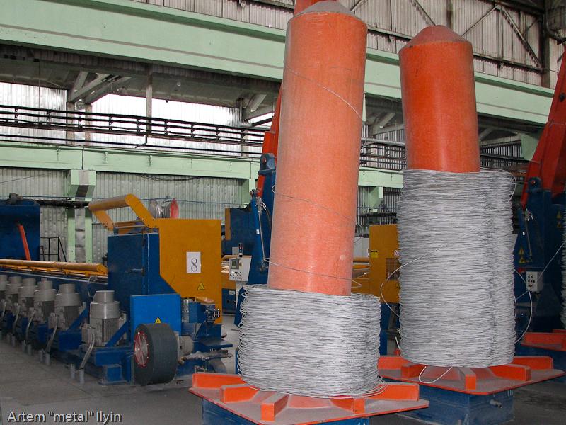 Итальянские проволочные станы завод Днепрометиз