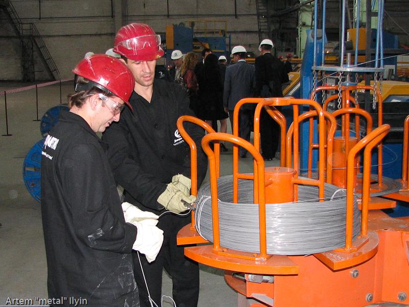 Упаковка продукции завод Днепрометиз