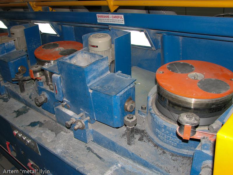 Волочильные секции проволочного стана завод Днепрометиз