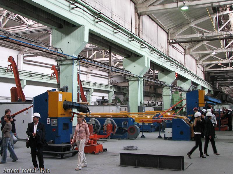 Волочильный цех завод Днепрометиз